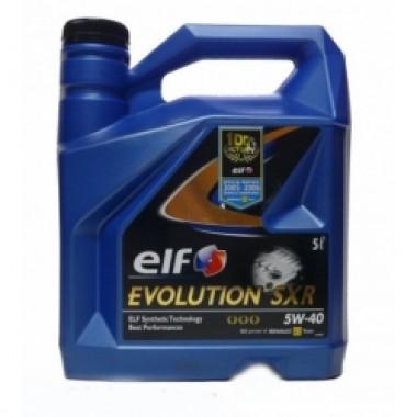 ELF EVOLUTION SXR 5W40 - 4 Litri