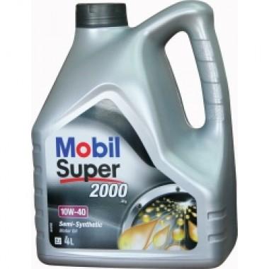 MOBIL SUPER 2000 X1 DIESEL 10W40 - 4Litri