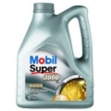 MOBIL SUPER 3000 X1 5W40 - 4 Litri