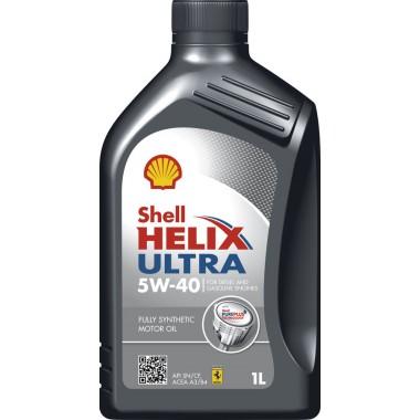 SHELL HELIX ULTRA 5W40 1-Litru
