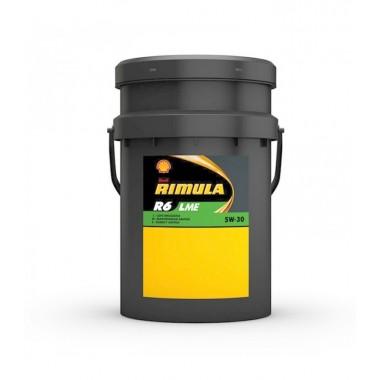 SHELL RIMULA R6 LME 5W30 20 Litri