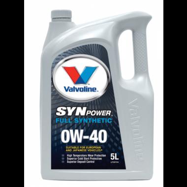 Valvoline Synpower 0W40 -4L