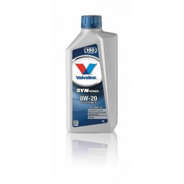 VALVOLINE SYNPOWER FE 0W20 - 1 LT