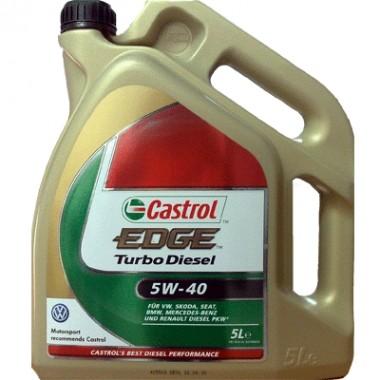 CASTROL EDGE TURBO DIESEL 5W40 - 5 Litri
