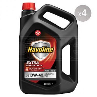Havoline Extra 10w40 - 4 lt