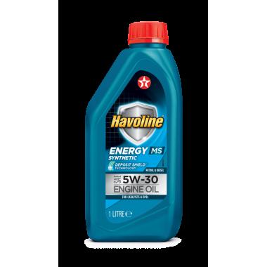 Havoline Energy MS 5w30 - 1lt