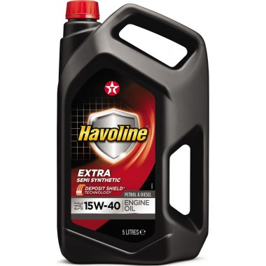 Havoline Extra 15w40 - 5 lt