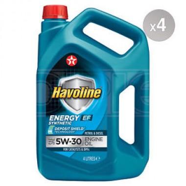 Havoline Energy EF 5w30 - 4 lt