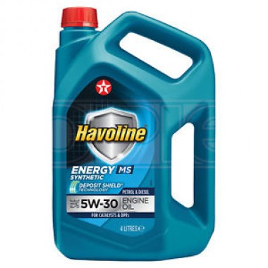 Havoline Energy MS 5w30 - 4 lt