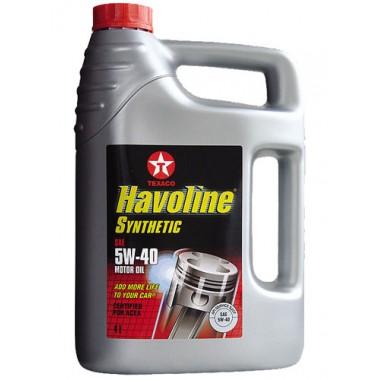 Havoline Synthetic 5W40 - 5 Litri